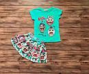 Дитячий літній костюм зі спідницею лялька Лол на 3-10 років, фото 4