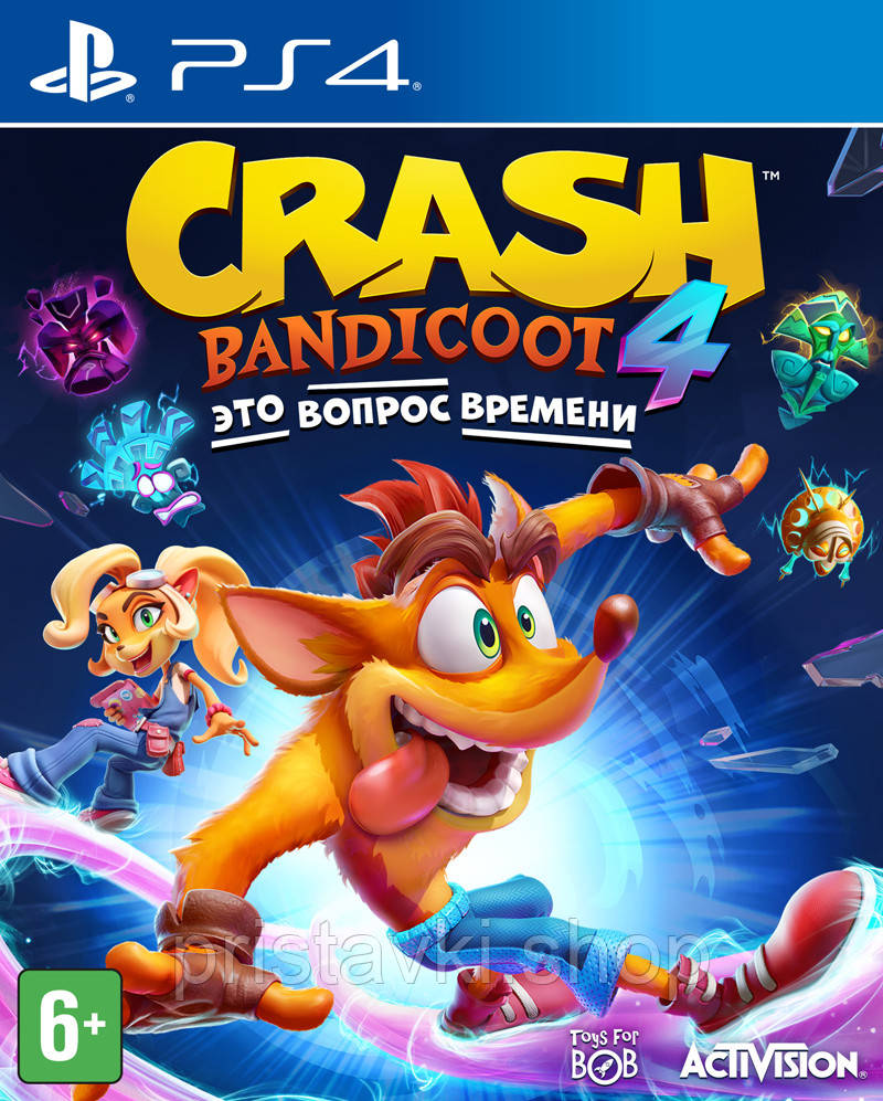 Crash Bandicoot 4: Its About Time PS4 \ PS5