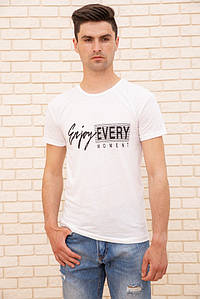 Футболка чоловік 129R2616-10 колір Білий