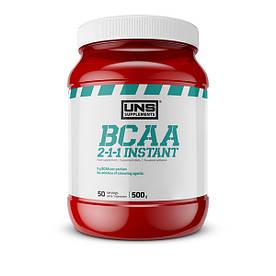 BCAA UNS BCAA 2-1-1 Instant, 500 грамм Клубника