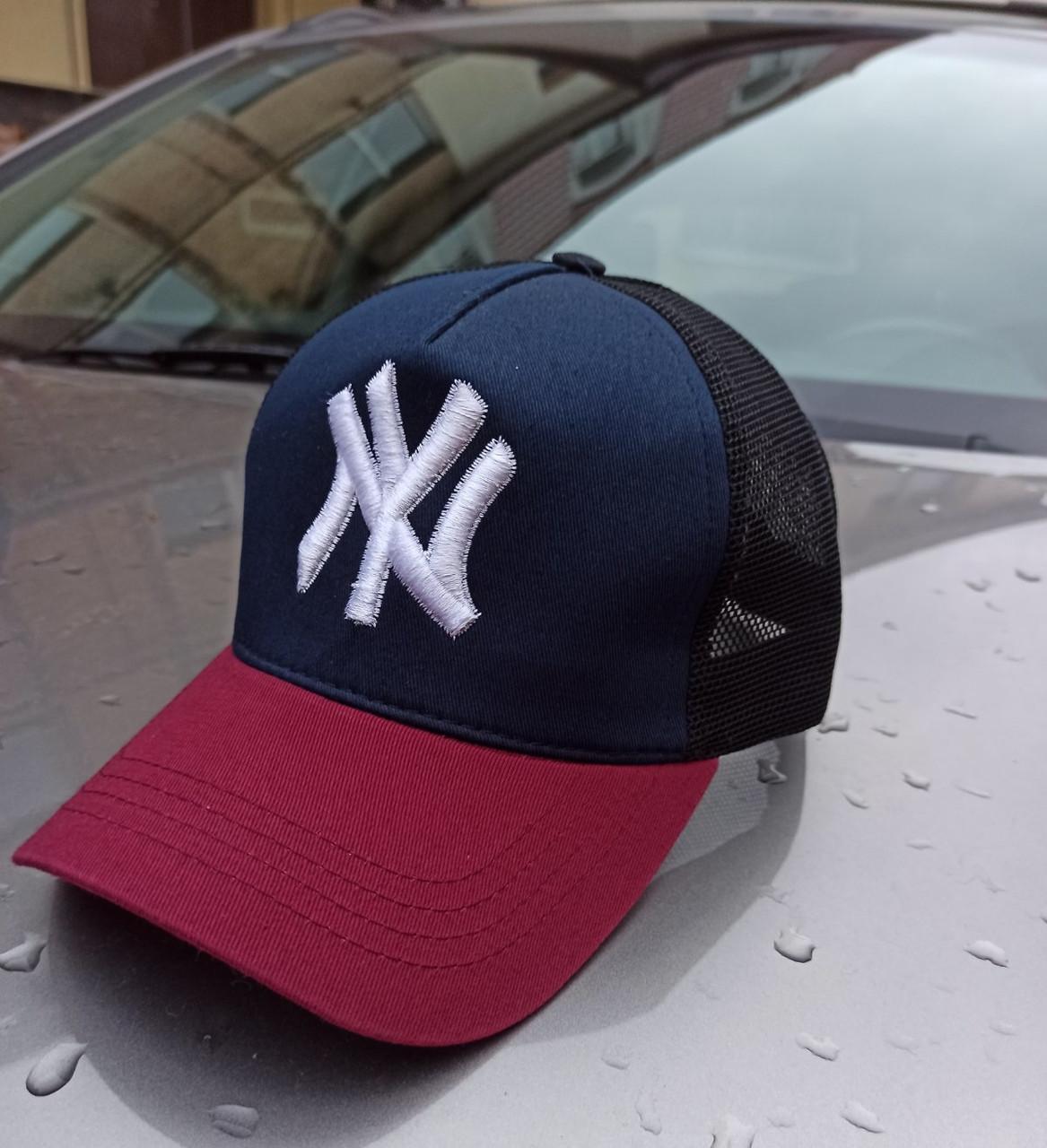 Бейсболка кепка модная летняя прогулочная мужская с сеткой спортивная в разных цветах