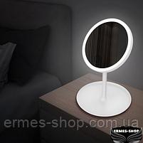 Косметическое зеркало с LED подсветкой и встроенным аккумулятором, фото 6