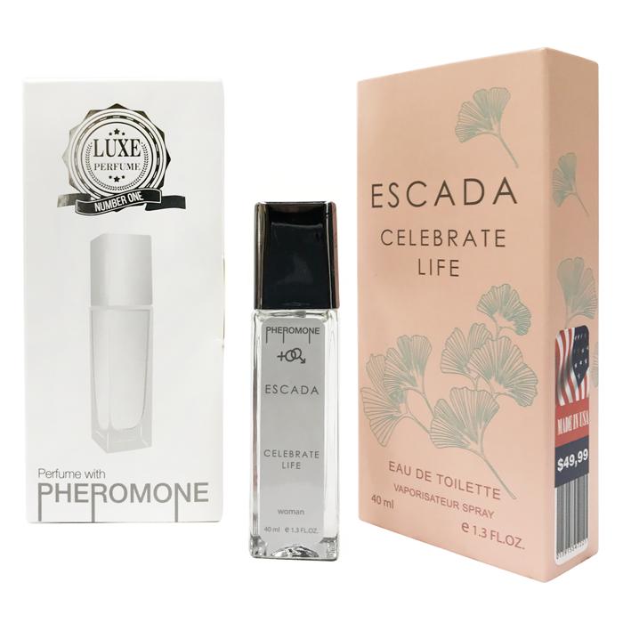 Pheromone Formula Escada Celebrate Life женский 40 мл