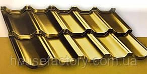 Модульна металочерепиця з нержавіючої сталі