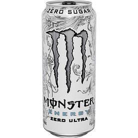 Напитки Monster Energy Zero Ultra White, 500 мл