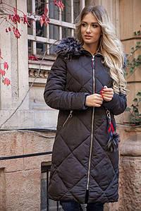 Пальто жіноче 131R8909 колір Чорний M