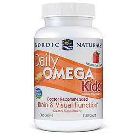 Жирные кислоты Nordic Naturals Daily Omega Kids, 30 капсул