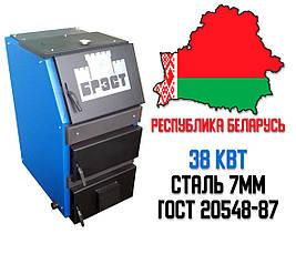 Белорусский котел шахтного типа Брест Цитадель 38 кВт. Бесплатная доставка!, фото 2