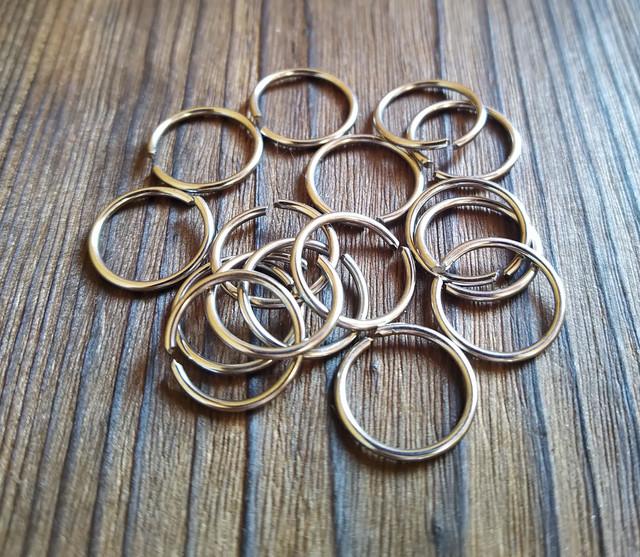 Металлическое кольцо соединительное 1 мм