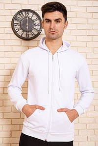 Спорт кофта мужская 116R038 цвет Белый 1330376423