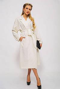 Пальто жіноче 115R417S колір Молочний 40