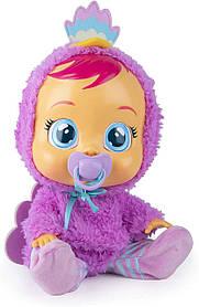 Інтерактивна лялька Плакса Павич Ліззі Плаче немовля Cry Babies Lizzy Baby Blue