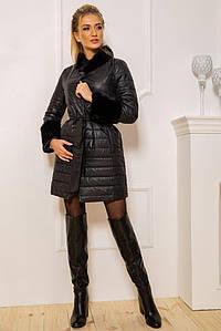 Пальто жіноче 131R125489 колір Чорний M