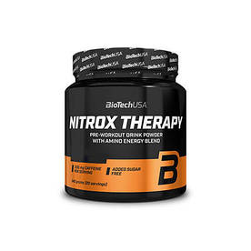 Предтренировочний комплекс BioTech Nitrox Therapy, 340 грам Персик