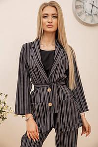 Пиджак женский 115R389-3 цвет Черный