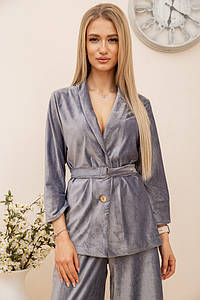 Пиджак женский 115R363-17 цвет Серый
