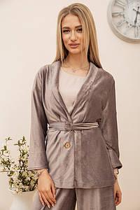 Пиджак женский 115R363-17 цвет Мокко