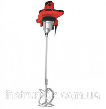 Дрель-миксер строительный Edon ED-M1400, 1400 Вт, 750 об/мин, регулировка оборотов, металлический редуктор