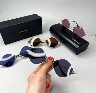 Женские солнцезащитные очки Баленсиага реплика Разные цвета