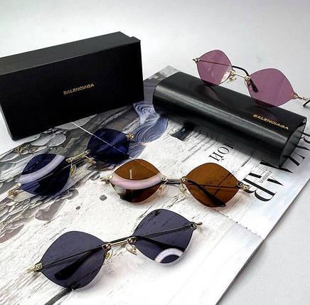 Женские солнцезащитные очки Баленсиага реплика Разные цвета, фото 2