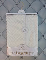 Одеяло детское Leylek Blanket, 85х109, Турция, крем