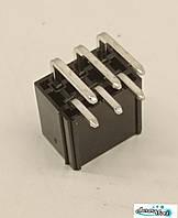 6 pin роз'єм Mini-Fit кутовий вилка + контакти,для живлення відеокарти під пайку.Конектор 4.2 мм 2x3Pin, фото 1