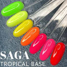 Бази каучукові Tropical від Saga Professional