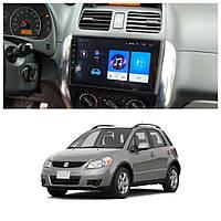 Штатна Android Магнітола на  Suzuki SX4 2006-2012 Model 3G-WiFi-solution (М-ССф-9-3Ж)