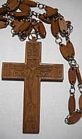 Крест протоиерейский  деревяный. Ручная работа. Резьба