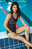 Купальник  для бассейна с поролоновыми чашечками спортивный польский, р. S, фото 1