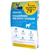 Sentry Flea&Tick Collar Small СЕНТРИ ошейник от блох и клещей для собак малых пород