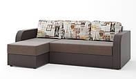 Мягкий красивый угловой диван для дома в гостиную от производителя Комфортный диван для зала угловой ПАРИЖ
