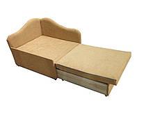 Малогабаритные детские мини кровати-диваны и мягкие кресла Диванчик маленький компактный Малыш Бежевый