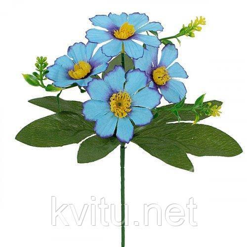 Искусственные цветы букет лютики бордюрные, 21см
