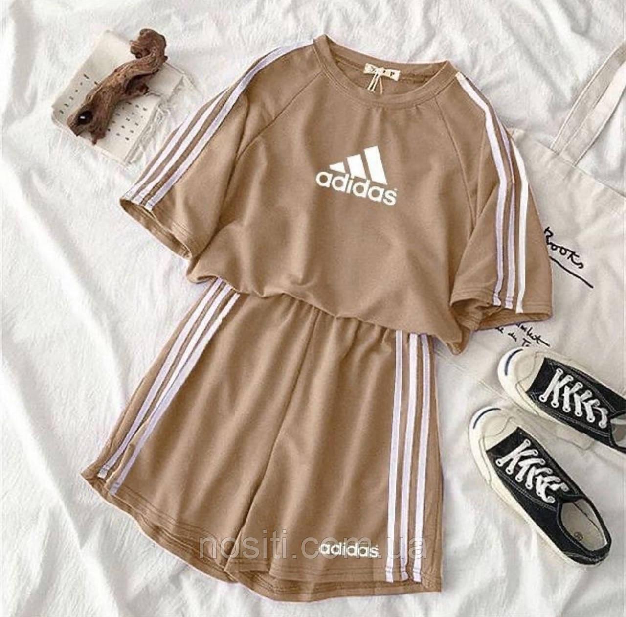 Женкий літній костюм футболка і шорти