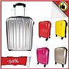 Легкий маленький чемодан ручна поклажа на 4-х колесах, фото 10
