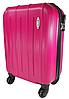 Ручная кладь чемодан на съемных четырех колесах синий, фото 3