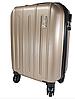 Ручная кладь чемодан на съемных четырех колесах синий, фото 4