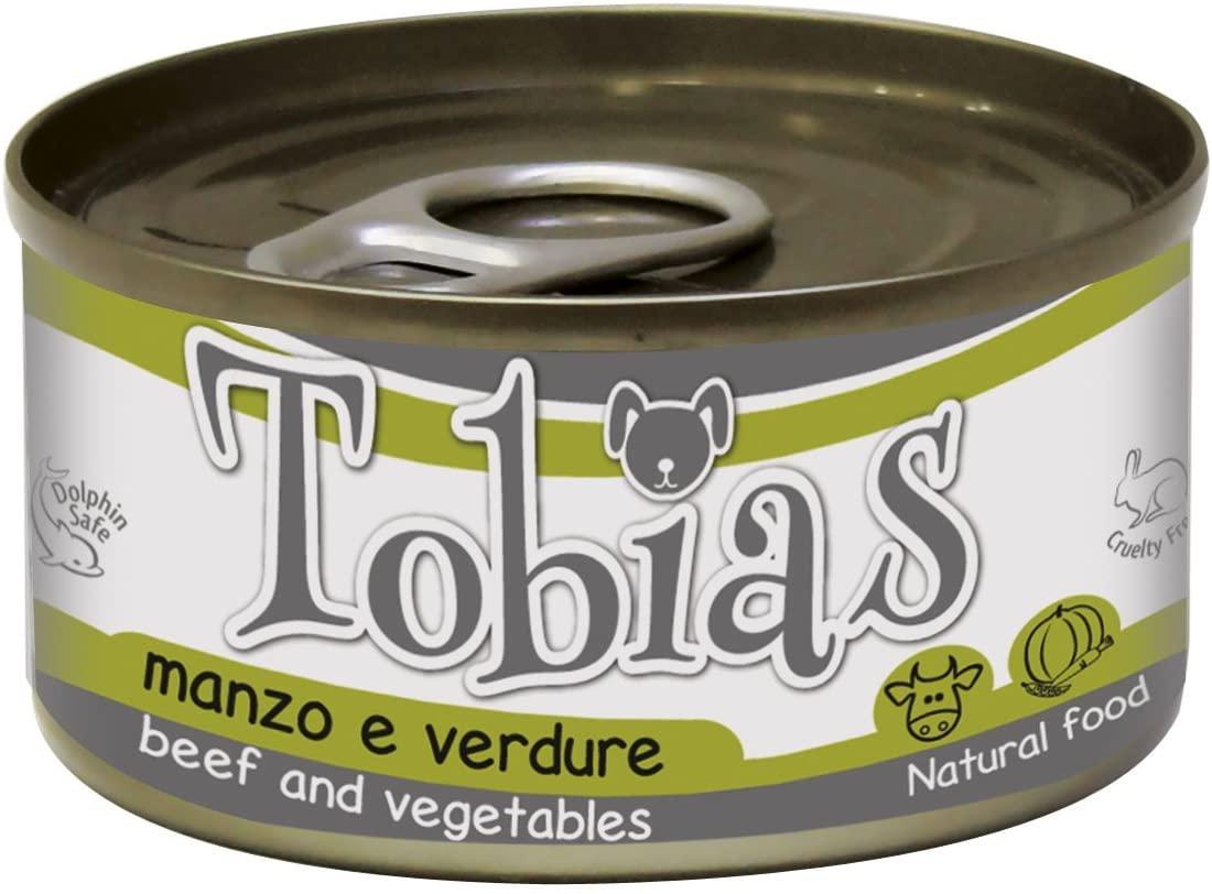 Блок консервированного корма для собак с говядиной и овощами Croci Tobias 24*170 г