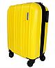 Легкий маленький чемодан ручна поклажа на 4-х колесах, фото 2
