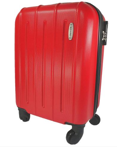 Легкий маленький чемодан ручна поклажа на 4-х колесах