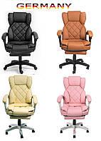 Офисное кресло для руководителя с подставкой для ног Современный дизайн эко-кожа до 120кг ts-bs06 A1