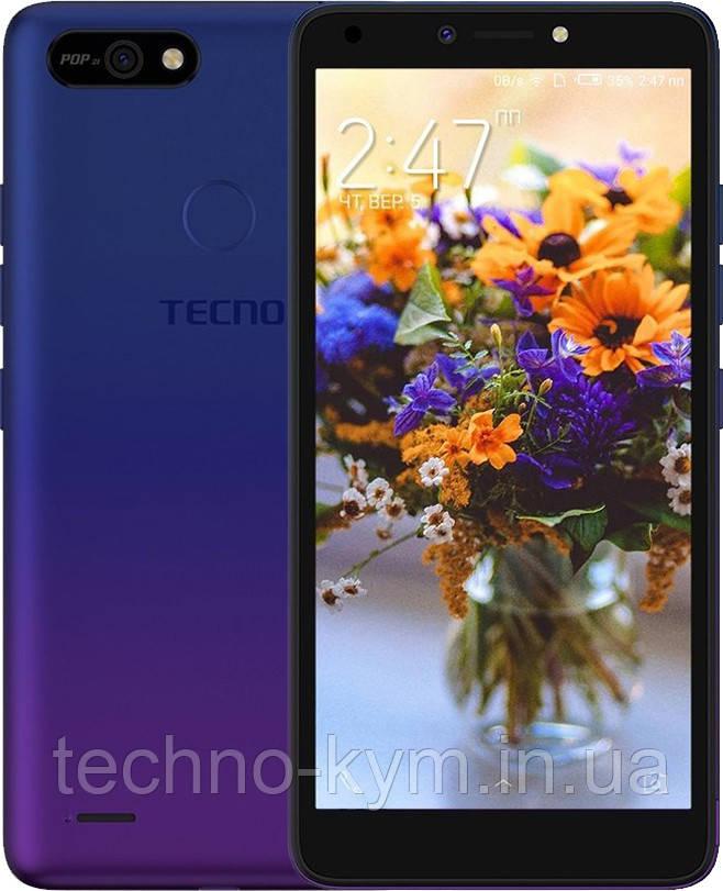 Смартфон Tecno POP 2F B1F 1/16GB Dawn Blue Гарантия 13 мес.