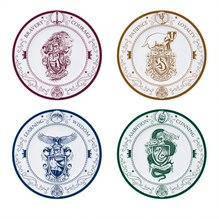 Набір тарілок HARRY POTTER Hogwarts Houses (Гаррі Поттер) (4шт)