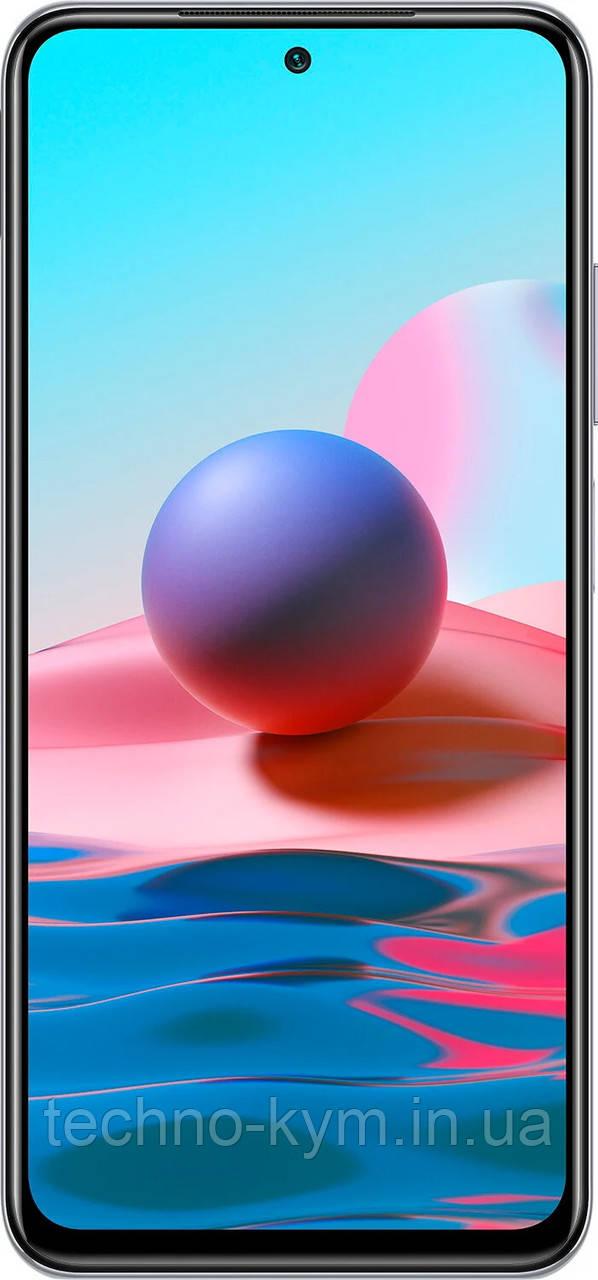 Смартфон Xiaomi Redmi Note 10 4/128Gb Pebble White Global Version UA-UCRF Гарантия 12 месяцев