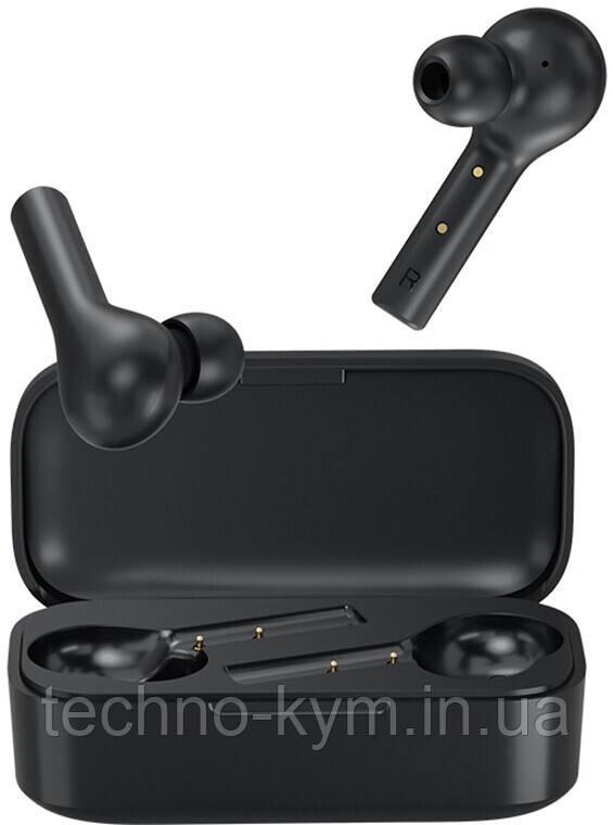 Навушники Bluetooth Earbuds QCY T5 TWS 5.0 Black UA UCRF Гарантія 12 місяців