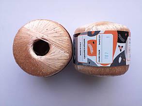 Пряжа Диаманте Пайет Ярна Италия, с пайетками, цвет теплый крем/диамант 107/250