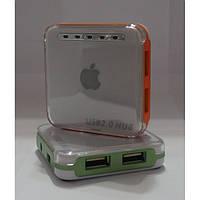 Хаб 4х портовый 2.0 Apple GT-20, USB, серый, хаб для Пк и ноутбука, мини хаб, Картридер, Карт ридеры,