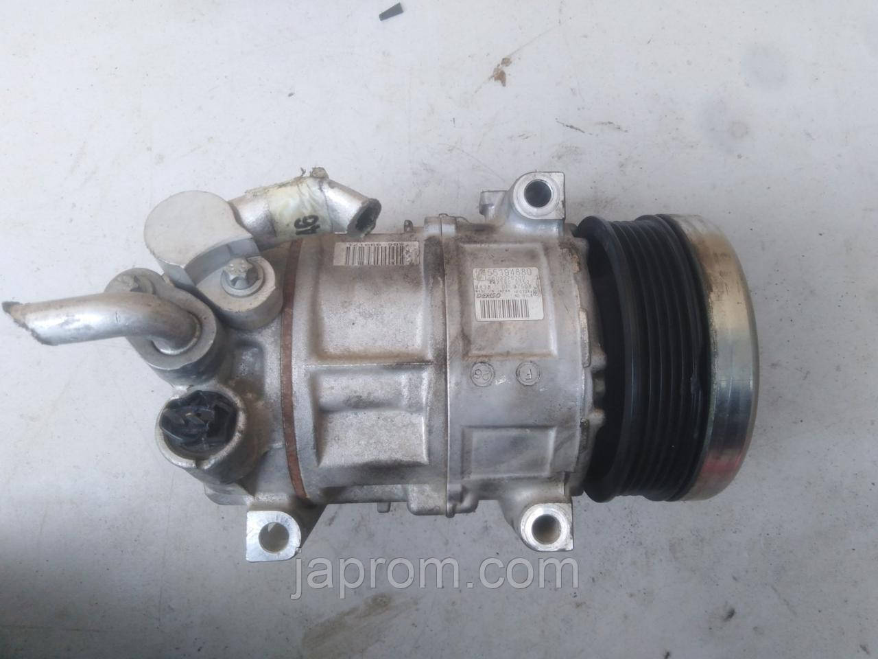 Компрессор кондиционера Fiat Doblo II Punto Linea Qubo Fiorino 1.4 бензин 08-15г.в дефект