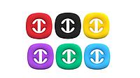 Антистресс Snapperz Игрушка для Снятия Стресса Новинка Pop It 2021 Фиджет Игрушка, фото 1